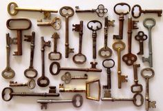 Real Vintage Antique Skeleton Keys Lots of 5 keys Low Price on Etsy, $16.00