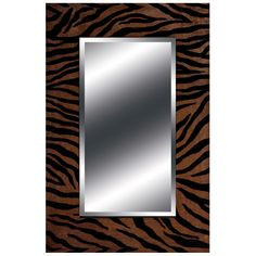 Animal Print Mirror