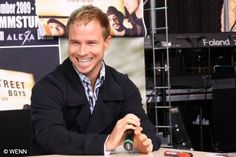 Brian Littrell. my first love. funny, kind hearted, great voice, plays guitar... the list goes on.
