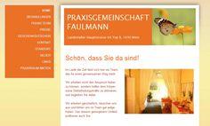Praxisgemeinschaft Faulmann - www.praxisfaulmann.at Lazy Husband, Community, First Aid, Gifts