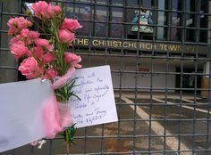 Remembering, four years on #earthquake #remembrance #ChristchurchTownHall