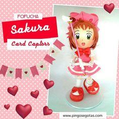 LANÇAMENTO PINGOS E GOTAS Anime Sakura Card Captors! www.pingosegotas.com