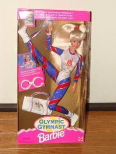 Barbie Olympic Gymnast Doll Team USA Olympics