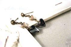 Ohrringe - ♥ Herztropfen ♥ Ohrringe - ein Designerstück von LiAnn-Versand bei DaWanda