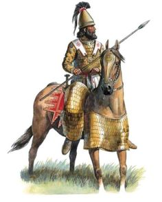 Alexander's Companion Cavalry: lance armed and armored (but without shield) shock cavalry