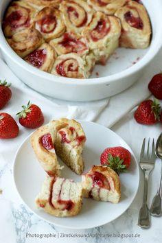 Erdbeerschnecken - super lecker und ganz schnell gemacht!