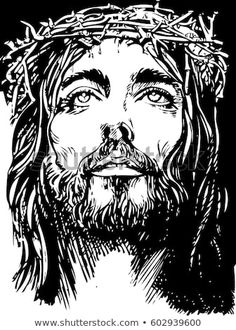 Jesus Christ Drawing, Jesus Drawings, Crucifixion Of Jesus, Christian Drawings, Christian Images, Dope Cartoon Art, Dope Cartoons, Jesus Tattoo, Christus Tattoo