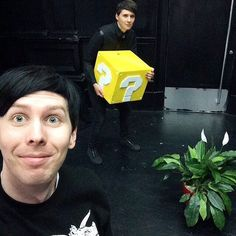 Hello people! I hope you having a great day so far! If your having a bad day here is a picture of Dan and Phil XD. I can't wait for school to be over. I still have like 3 more weeks. Uuuugggghh.