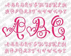 Monogram Svg Monogram Letters Svg Handlettered Font Cut Files Svg Files for Silhouete Cricut Monogram Alphabet Svg Alphabet Font Art Svg Hand - Monogram Svg Monogram Letters Svg Ono Font Cricut Monogram, Monogram Fonts, Monogram Letters, Free Monogram, Wood Letters, Monograms, Caligraphy Alphabet, Hand Lettering Alphabet, Design Alphabet