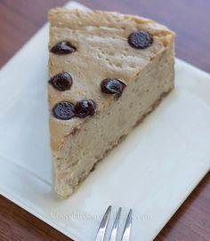 Secretly Healthy Cappuccino Cloud Cheesecake