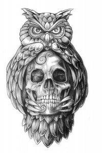 PapiRouge - Tattoo Zeichnungen von Sven