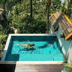 Four Seasons Resort Koh Samui Thailandia Swimming Pool Pond, Pool Spa, Swimming Pool Designs, Small Backyard Pools, Small Pools, Thailand Photos, Koh Samui, Samui Thailand, Plunge Pool
