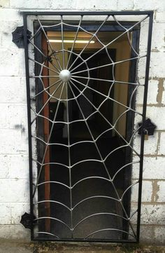 Awesome Spider Web Gate