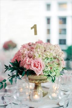 Love the floral colors. This is what color i want the hydrendias for the center peices and base of the bouquets.  @Maddie Heins