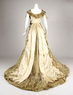 Driscoll ball gown ca. 1900 From the Metropolitan Museum of Art