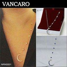 """""""I love you to the moon and back"""" necklace ~Vancaro~"""