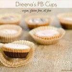 Dreena's Peanut Butter Cups (vegan, gluten-free, oil-free)
