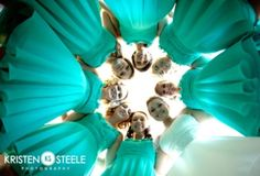 like the picture idea, and love the color and style of the bridesmaid dresses