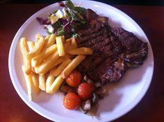 T Bone Steak @ Di Maggios     http://houseofherby.wordpress.com/