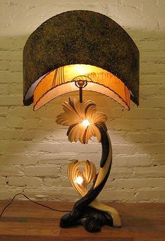 Wild Mid Century Atomic Lamp                                                                                                                                                                                 More