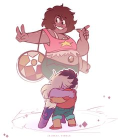 Even though I didn't see the episode yet, I'm so happy for Smokey Quartz!