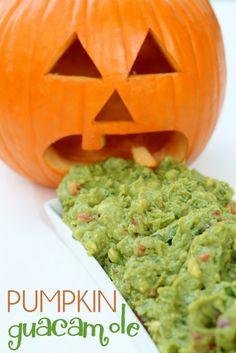 Barfing Pumpkin Guac