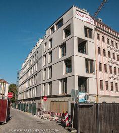 Dresden, Südfassade Quartier am Jüdenhof