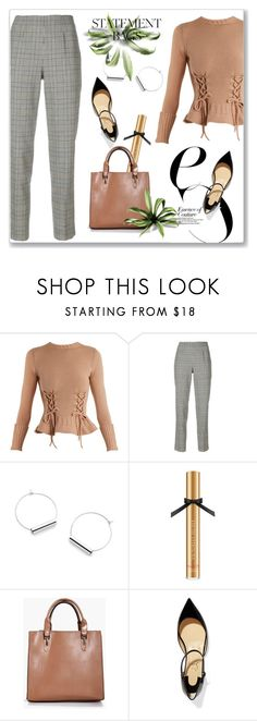 """""""Carry On: Statement Bags"""" by andrejae ❤ liked on Polyvore featuring Alexander McQueen, Ermanno Scervino, Victoria's Secret, Boohoo, Christian Louboutin, polyvoreeditorial, polyvorecontest and statementbags"""