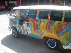 Maybe Zach would get us a van if it had Jimi Hendrix on it!....  :)