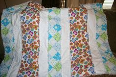 This is the website that I used for the pattern for my rag quilts.  I just add a binding