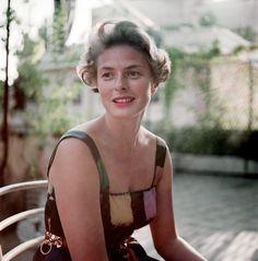 1940s & 1950s  (summers-in-hollywood: Ingrid Bergman in Italy,...)