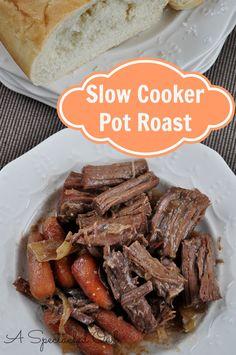 Slow Cooker Pot Roast Recipe