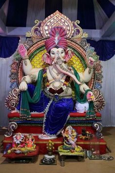🙏 🙏 Ganesh Murti Images, Shri Ganesh Images, Ganesh Chaturthi Images, Ganesha Pictures, Jai Ganesh, Ganesh Lord, Ganesh Idol, Shree Ganesh, Ganesh Wallpaper