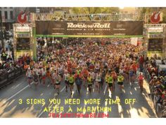 When is it too soon to come back from a #marathon?