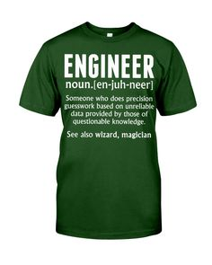 ENGINEER Engineer Shirt, Anger Issues, The Magicians, Classic T Shirts, Daddy, Engineering, Unisex, Mens Tops, Prints