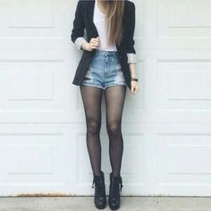 blazer, fashion, and outfits Bild