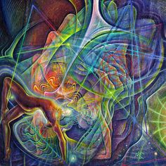 #detail from ' #Astarte Unfolding ' by #ASM 2015. #ArtPrints & #OriginalArt available .#OilPainting . #ASMethod .  #yoga #yogini #kundalini #venus #torus #toroid #unionofthestars #visionaryart #gallery #magicalrealism #art #artist #instaart #inspiration #inspire #artoftheday #visionary #surrealism #psychedelicart #instaart #heartchakra #anahata