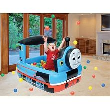 Thomas the Train Ball Pit Have your own personal ball pit right at home! Suitable  sc 1 st  Pinterest & Thomas the Train table and chair set $25.00 | Thomas the train table ...