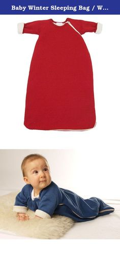 Baby Winter Sleeping Bag / Wearable Blanket with Long Sleeves, Cotton / Wool (62-68cm, Red). All used colors are free of heavy metals and all metallic components are free of nickel. Absolutely no harmful chemicals, no pesticides, insecticides, or fire retardants. For the production of our natural textiles we are careful to use exclusively natural materials and we follow highest ecological standards. The production takes place in our own house at the foot of the Swabia Alb. This result in...
