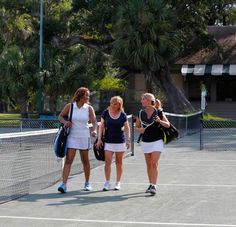 Hilton Head is one of the country's top tennis destinations, featuring over 500 tennis courts and eight of the top 100 tennis resorts and camps in the world. Hilton Head Island, South Carolina, Tennis, Sneakers Nike, Running, Tops, Nike Tennis Shoes, Racing, Keep Running