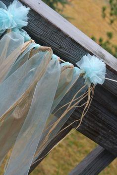 Beach Wedding Garland Tula Skirt Garland Bridal Shower by JCBees, $65.00