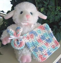 Patterns for Baby Washcloths | CROCHET BABY WASHCLOTH PATTERN | Crochet Patterns