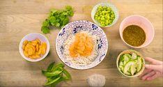 Rapide et facile à préparer, essayez cette recette qui ravira vos papilles et celles de votre famille!  #recipes #recettes #healthy #health #eatgood #vegetables #lifestyle #food #foodies #eatwell #nutrition #nutritionniste Cantaloupe, Nutrition, Fruit, Lifestyle, Food, Mustard Seed, Calcium Chloride, Asian Vegetables, Soba Noodles