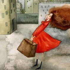 """""""Che bagaglio pesante, la sensibilità..."""" (Valentina Veltroni)"""