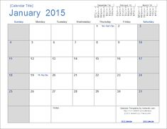 search results for 2015 month at a glance calendar.html