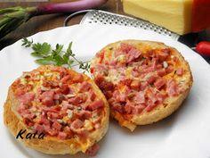 KataKonyha: Retró melegszendvics Hawaiian Pizza, Bruschetta, Food Hacks, Baked Goods, Hot Dogs, Hamburger, Sandwiches, Food Porn, Toast