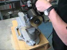 Metabo SE12-115 Stainless Steel Burnisher Polisher KIT (110v)