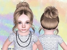 •Sims 3 hairstyles ~She looks tired tbh~