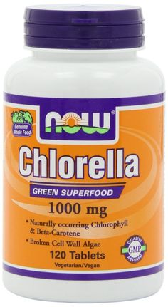 NOW Foods Chlorella 1000mg, 120 Tablets * Review more details here : Herbal Supplements