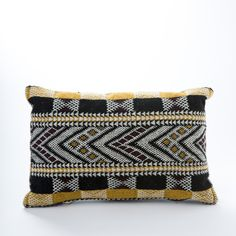 Vintage Moroccan Pillow from KESTREL. A beautiful handwoven pillow is the perfect accent to your home. - Brooklyn based Kantara, is deeply rooted in its commitment to fair and ethical trade, working closely with highly skilled women's weaving cooperatives throughout Morocco's Atlas Mountains.